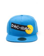 Pac Man Pixel Logo snap back